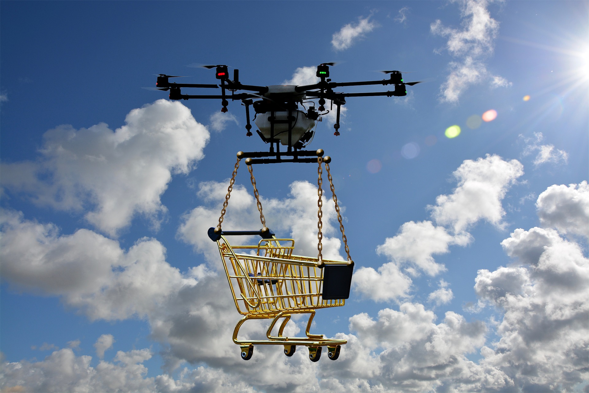 drone delivery unmanned aircraft
